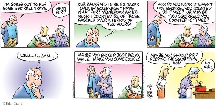 Comic Strip Brian Crane  Pickles 2009-10-04 period