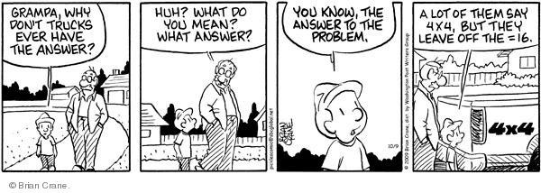 Comic Strip Brian Crane  Pickles 2009-10-09 multiplication