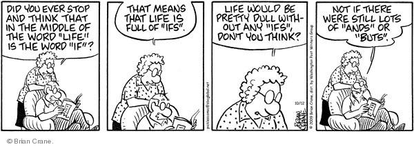 Comic Strip Brian Crane  Pickles 2009-10-12 vocabulary