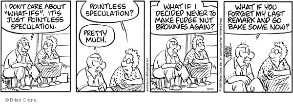 Cartoonist Brian Crane  Pickles 2009-10-17 bake
