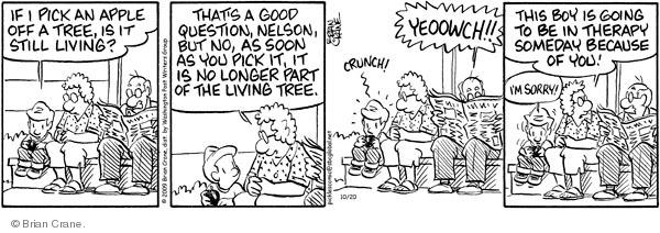 Comic Strip Brian Crane  Pickles 2009-10-20 crunch