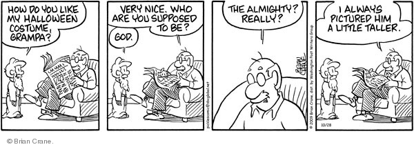 Comic Strip Brian Crane  Pickles 2009-10-28 almighty