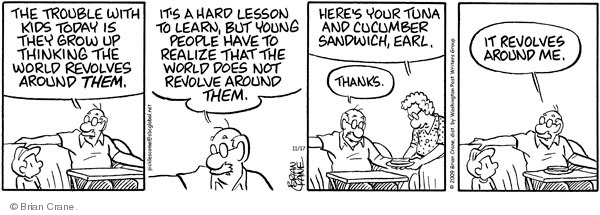Comic Strip Brian Crane  Pickles 2009-11-17 revolve