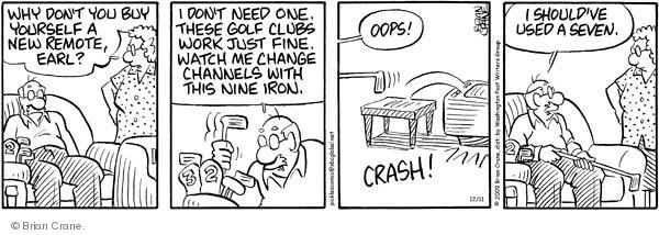 Comic Strip Brian Crane  Pickles 2009-12-11 buy