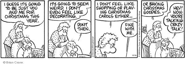 Cartoonist Brian Crane  Pickles 2009-12-16 bake