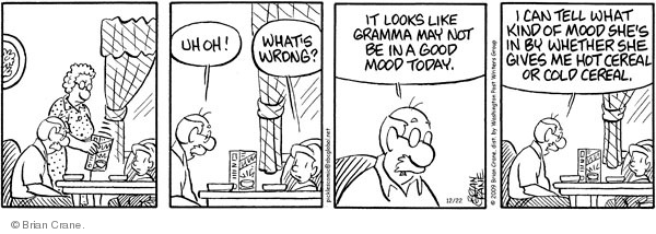 Comic Strip Brian Crane  Pickles 2009-12-22 grandmother