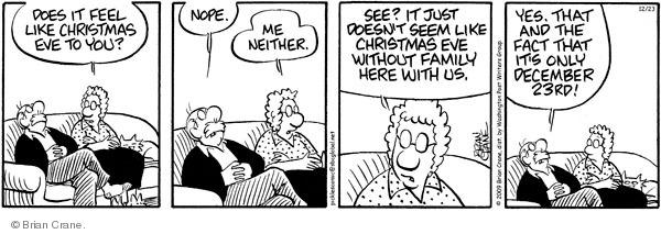 Comic Strip Brian Crane  Pickles 2009-12-23 December