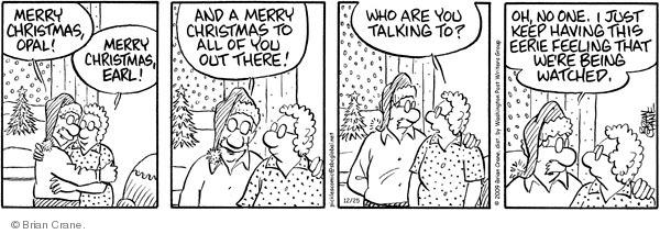 Comic Strip Brian Crane  Pickles 2009-12-25 Merry