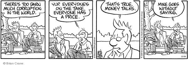 Comic Strip Brian Crane  Pickles 2009-12-28 retiree