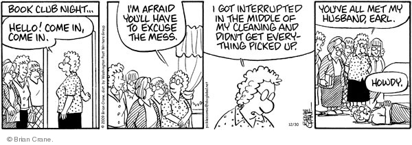 Comic Strip Brian Crane  Pickles 2009-12-30 middle of the night