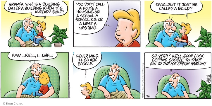 Comic Strip Brian Crane  Pickles 2010-01-03 good luck