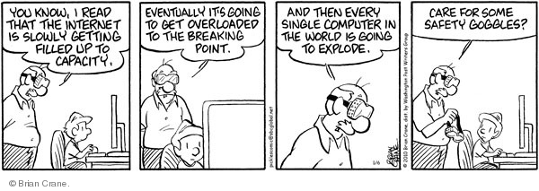 Comic Strip Brian Crane  Pickles 2010-01-06 infrastructure
