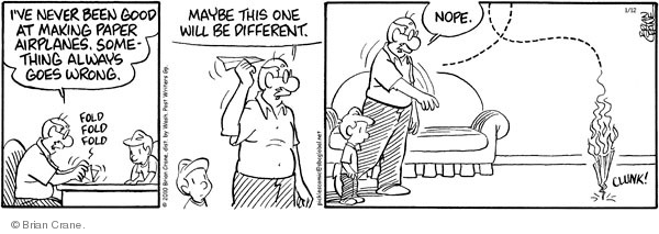 Comic Strip Brian Crane  Pickles 2010-01-12 design