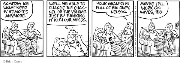 Comic Strip Brian Crane  Pickles 2010-01-25 too