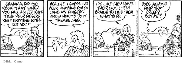 Comic Strip Brian Crane  Pickles 2010-02-05 long memory