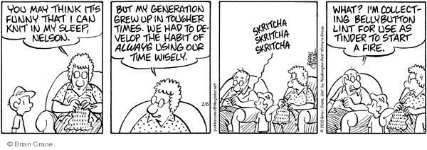 Comic Strip Brian Crane  Pickles 2010-02-06 habit