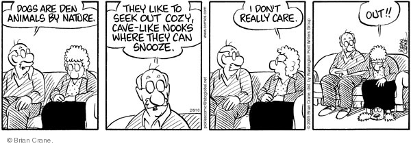 Comic Strip Brian Crane  Pickles 2010-02-08 den