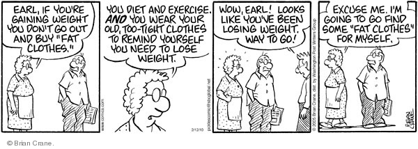 Comic Strip Brian Crane  Pickles 2010-02-12 buy