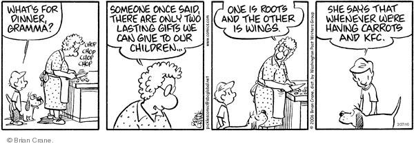 Comic Strip Brian Crane  Pickles 2010-02-27 root