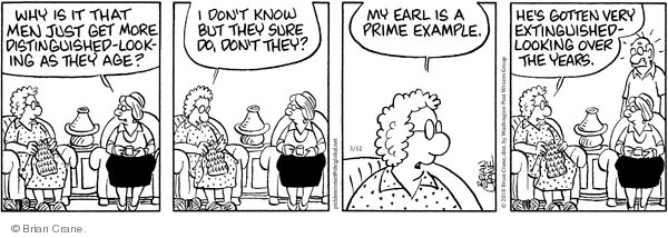 Comic Strip Brian Crane  Pickles 2010-03-12 husband