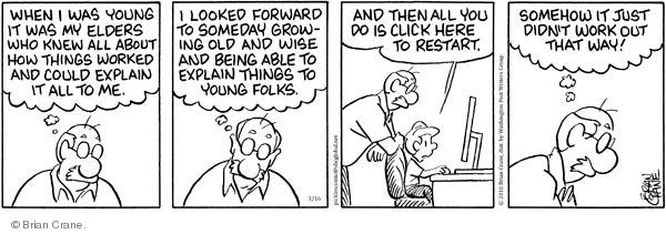 Comic Strip Brian Crane  Pickles 2010-03-16 somehow
