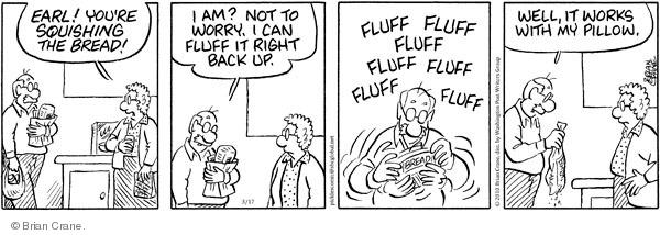 Comic Strip Brian Crane  Pickles 2010-03-17 food package