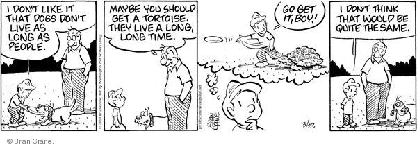 Comic Strip Brian Crane  Pickles 2010-03-23 span