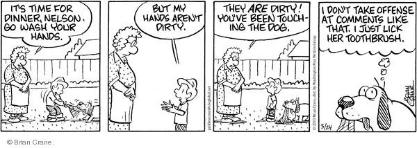 Comic Strip Brian Crane  Pickles 2010-03-24 germ