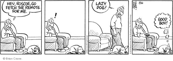 Comic Strip Brian Crane  Pickles 2010-03-26 dog training