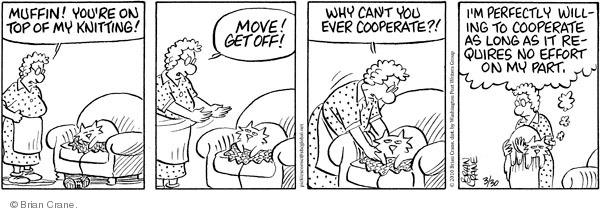 Comic Strip Brian Crane  Pickles 2010-03-30 effort
