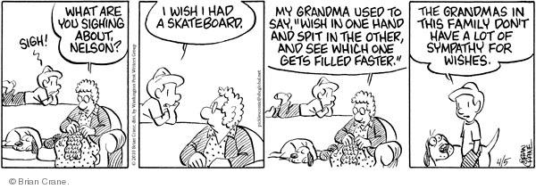 Comic Strip Brian Crane  Pickles 2010-04-05 sympathy