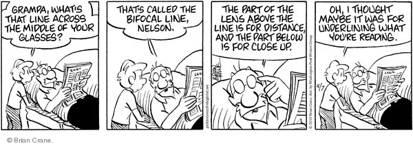 Comic Strip Brian Crane  Pickles 2010-04-07 distance