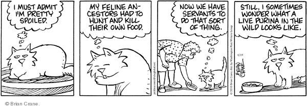 Comic Strip Brian Crane  Pickles 2010-04-19 admit