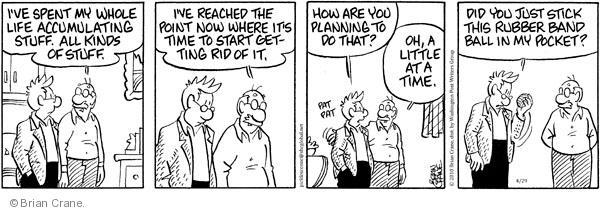 Comic Strip Brian Crane  Pickles 2010-04-29 rid