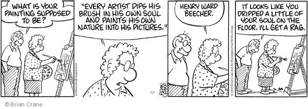 Comic Strip Brian Crane  Pickles 2010-05-05 dip