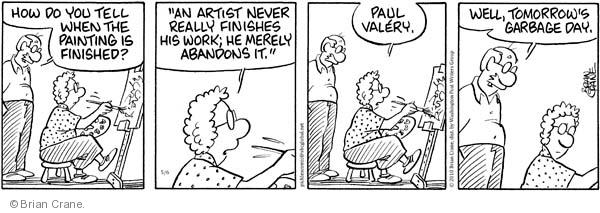 Comic Strip Brian Crane  Pickles 2010-05-06 merely