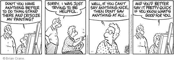 Comic Strip Brian Crane  Pickles 2010-05-07 helpful