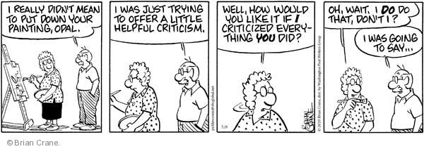 Comic Strip Brian Crane  Pickles 2010-05-08 husband