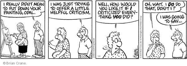 Comic Strip Brian Crane  Pickles 2010-05-08 helpful