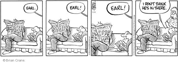 Comic Strip Brian Crane  Pickles 2010-05-10 not listening