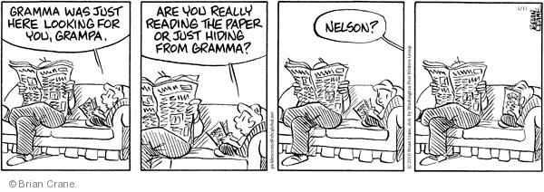 Comic Strip Brian Crane  Pickles 2010-05-11 grandpa