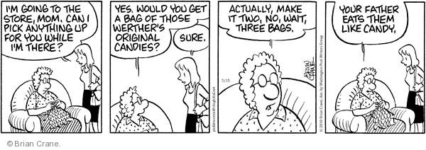 Comic Strip Brian Crane  Pickles 2010-05-15 mom