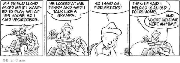 Comic Strip Brian Crane  Pickles 2010-05-21 assist