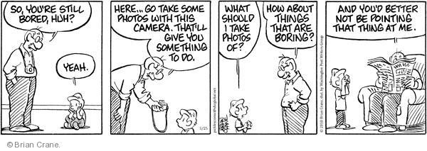 Comic Strip Brian Crane  Pickles 2010-05-25 picture