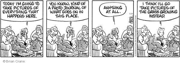Comic Strip Brian Crane  Pickles 2010-05-28 picture
