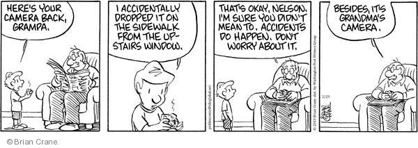 Comic Strip Brian Crane  Pickles 2010-05-29 upstairs