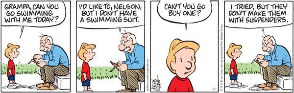 Comic Strip Brian Crane  Pickles 2010-06-01 grandpa