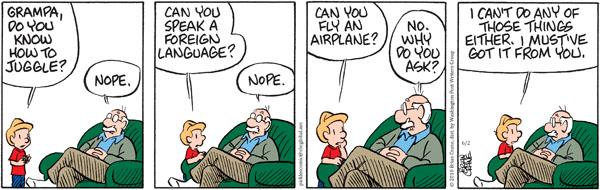Comic Strip Brian Crane  Pickles 2010-06-02 grandpa