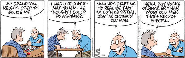 Comic Strip Brian Crane  Pickles 2010-06-04 grandson