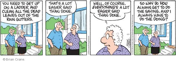 Comic Strip Brian Crane  Pickles 2010-06-08 husband